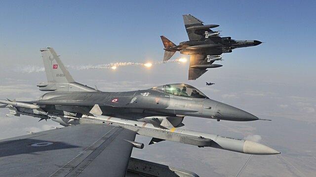 Kuzey Irak'a hava harekatı: 12 terörist etkisiz hale getirildi