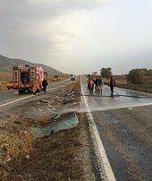 Yolcu otobüsüdevrildi: 7 ölü