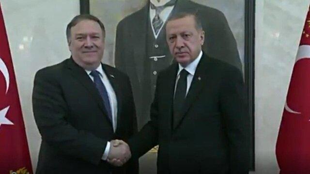 President Erdoğan, US' Pompeo meet in Ankara