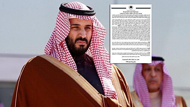 Suudi Alimler Heyeti: Prens Selman azledilsin