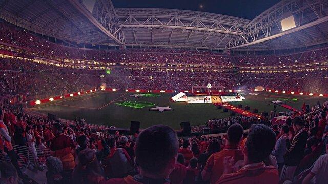 Dünyanın en iyisi Türk Telekom Stadı