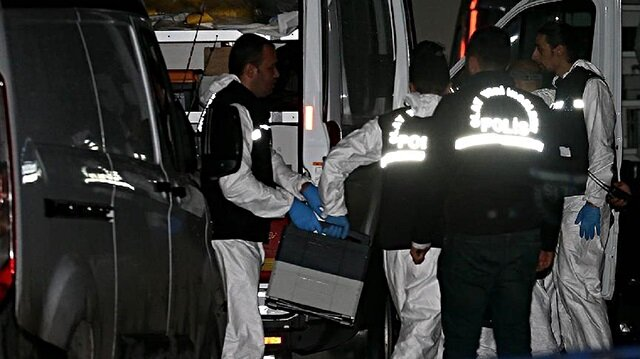 Crime scene investigation units arrived at the Istanbul residence of Mohammad al-Otaibi around 4:40 p.m. local time (1340 GMT).