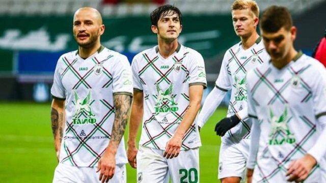 UEFA Rubin Kazan'ı 1 yıl men etti