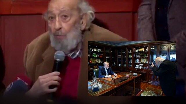 Ara Güler Erdoğan için bu sözleri söylemişti
