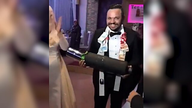 Düğünde damada egzoz hediye edilirse