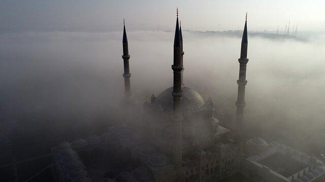 مشاهد رائعة لجامع السليمية في أدرنة التركية