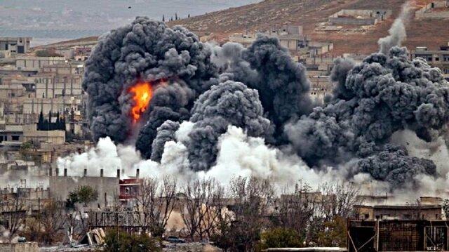 قصف مسجد ومعهد لتعليم القرآن في دير الزور من قبل واشنطن وحلفائها