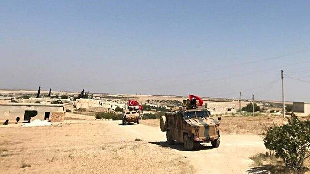 الجيش التركي يسير دوريته الـ63 في منبج السورية
