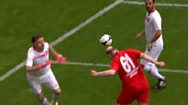 Süleyman Soylu'dan Şöhretler Karması maçında harika gol
