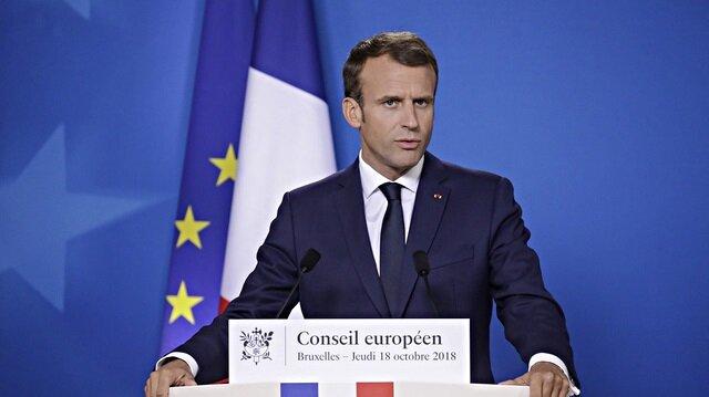 ماكرون: فرنسا ستدعم جهود إعادة إعمار العراق