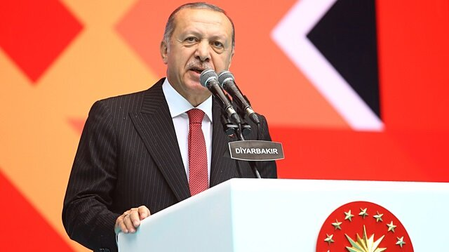 أردوغان.. سنكون أول من يقف بوجه ممارسي التفرقة العنصرية
