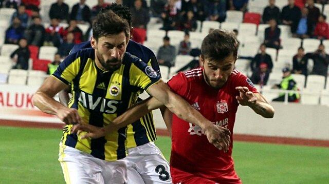 Sivasspor-Fenerbahçe: 0-0