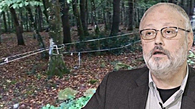 Polis kayıp gazeteci Cemal Kaşıkçı'nın izini Belgrad Ormanı'nda arıyor.n