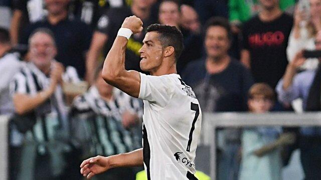 Ronaldo'dan rekoru getiren gol
