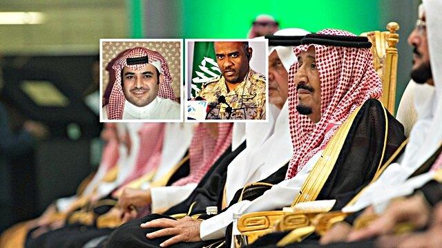 Kral Selman'ın görevden aldığı isimler arasında Suud Kahtani ve Ahmed Asiri de var.