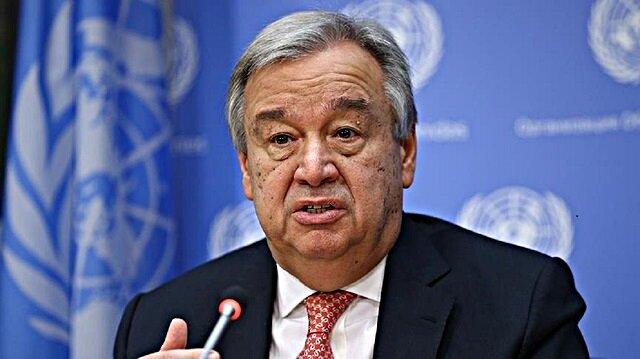 BM Genel Sekreteri Guterres