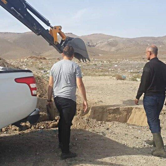 Operasyonda ele geçirildi: Zabıta ekipleri hemen gömdü