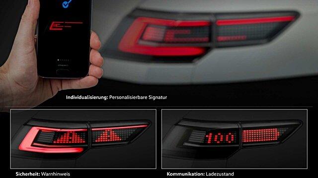 Volkswagen LED farlarını faklı bir boyuta taşıdı