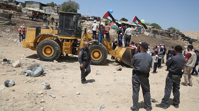 İşgalci İsrail Han el-Ahmer'deki yıkımı 'birkaç hafta' erteledi