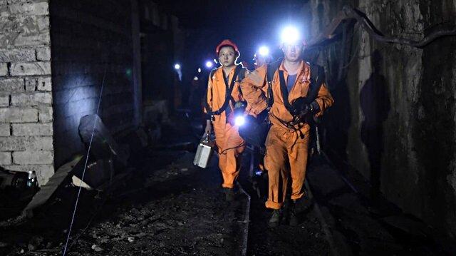 Çin'de maden ocağında patlama: 22 işçi mahsur kaldı