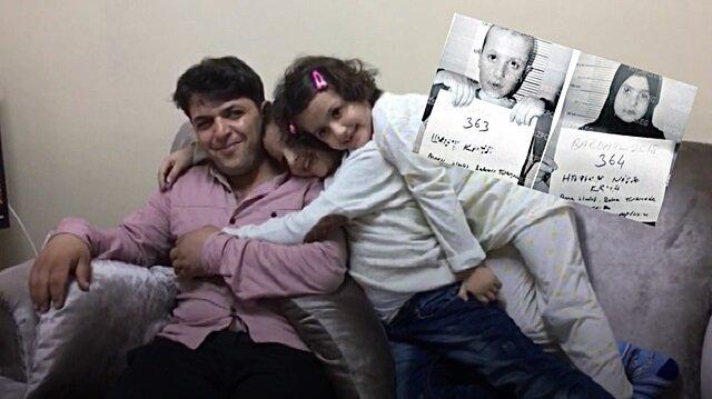 Annelerinin IŞİD'e kaçırdığı iki kardeş 4 yıl sonra babalarına kavuştu