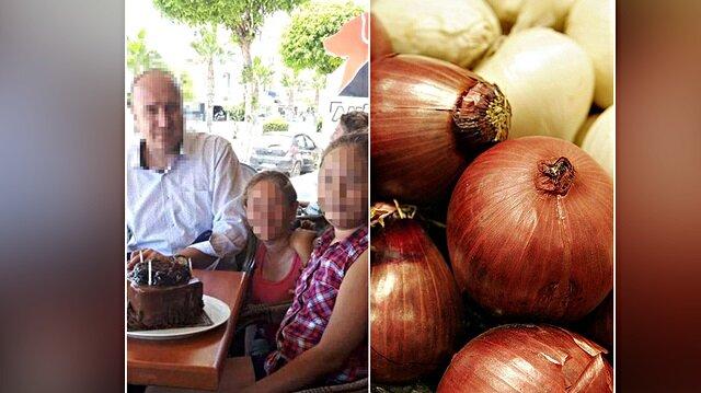 Torununa soğan atan oğluna ilginç tepki: Soğan atma kilosu pahalı