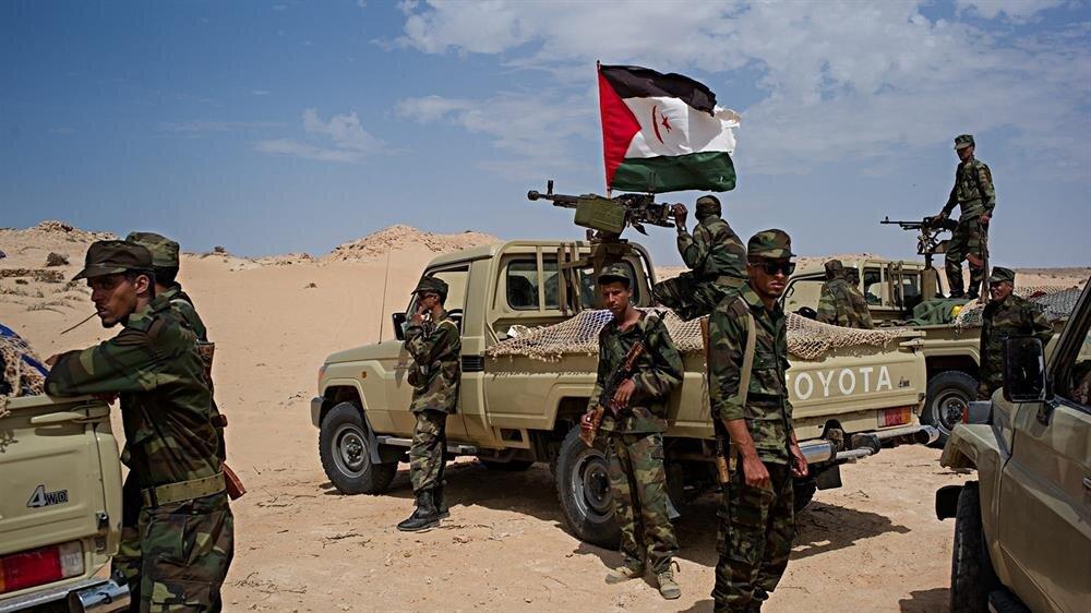 Batı Sahra'da Fas egemenliğine karşı mücadele eden Polisario askerleri