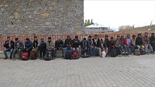 irregular migrants in Turkey