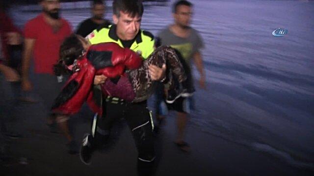 Bodrum'da can pazarı... Mülteci teknesi battı ölü ve yaralılar var