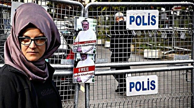 Suudi Arabistan konsolosluğunda öldürülen Cemal Kaşıkçı'nın nişanlısı Hatice Cengizn