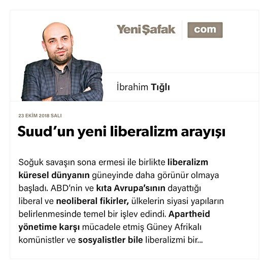 Suud'un yeni liberalizm arayışı
