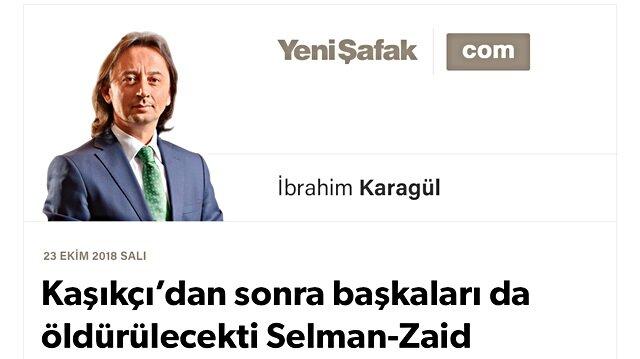 Kaşıkçı'dan sonra başkaları da öldürülecekti Selman-Zaid projesinin Türkiye ayağı neydi? Erdoğan bugün nasıl bir açıklama yapacak? Selman'ı Trump bile kurtaramaz artık..