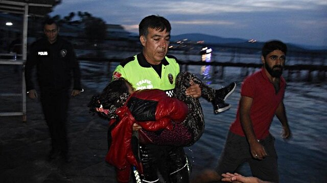 Harun Kılıçoğlu watched in tears a migrant child struggle for life after her boat capsized