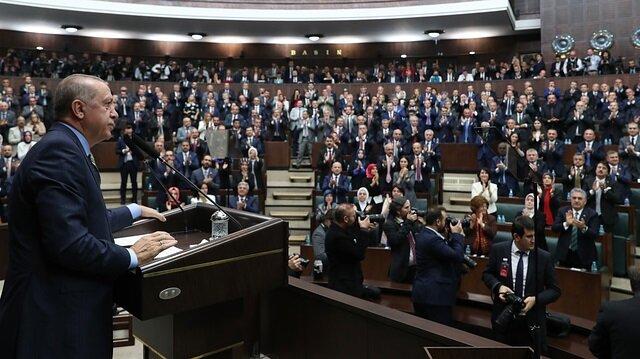 Cumhurbaşkanı Erdoğan başkanlığında yerel seçim toplantısı