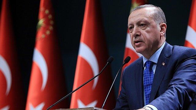 Erdoğan: Bizim için en güzel ant İstiklal Marşımız