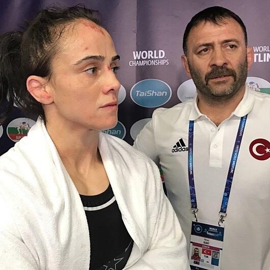 مصارعة تركية تفوز بفضية العالم وزن 59 كيلوغراما