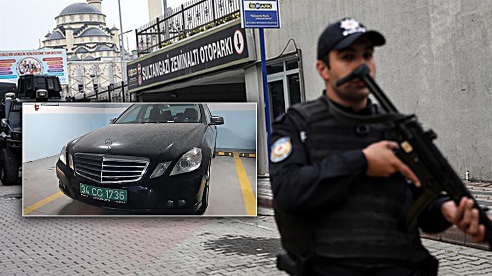 Suudi Arabistan Başkonsolosluğuna ait diplomatik plakalı bir otomobil Sultangazi'de bir otoparkta bulunmuştu.
