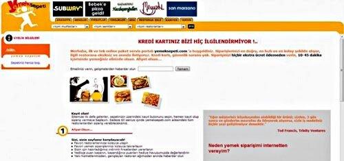 Yemek Sepeti - 2001