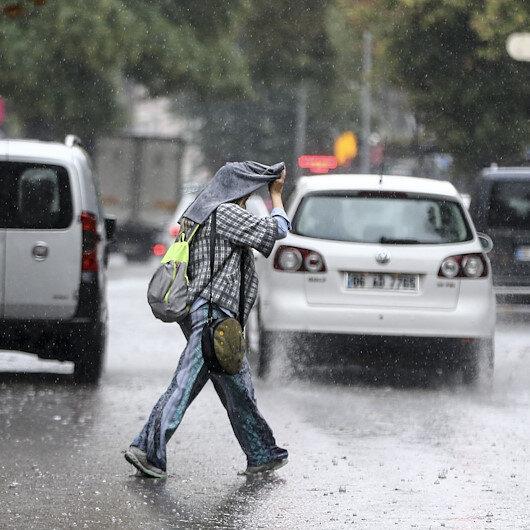 Meteorolojiden 3 il için kuvvetli yağış uyarısı