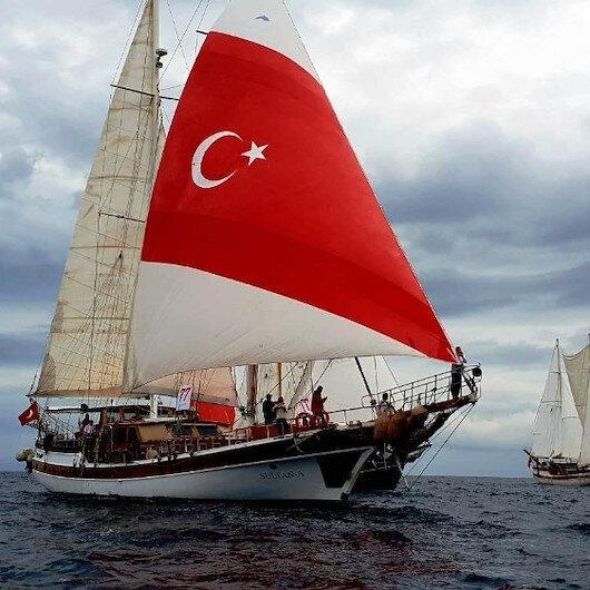 Yunan adalarında bin 500 Türk mahsur kaldı