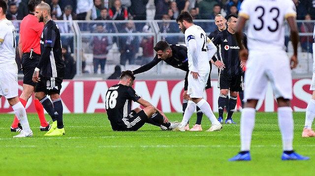 Beşiktaş'a Rizespor maçı öncesi kötü haber