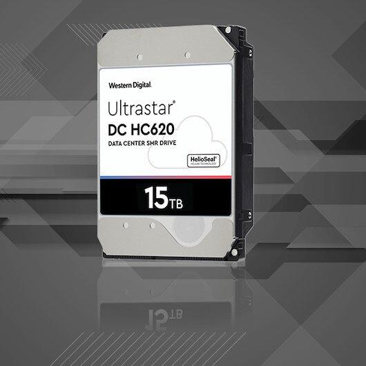 Western Digital'den 15 terabaytlık en büyük HDD