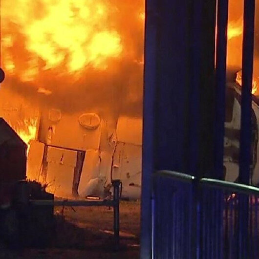 Leicester City'nin sahibinin helikopteri kaza yaptı