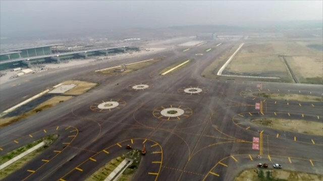 İstanbul Yeni Havalimanı'nın son hali havadan görüntülendi