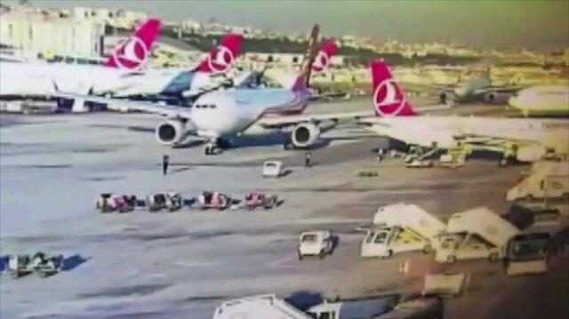 Atatürk Havalimanı'nda bir uçak kazaya ramak kala durabildi
