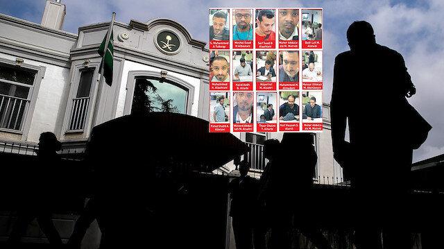 Cemal Kaşıkçı'yı konsolosluk binasında katleden 15 kişilik Suudi infaz timi olayın ardından ülkelerine kaçmıştı.n