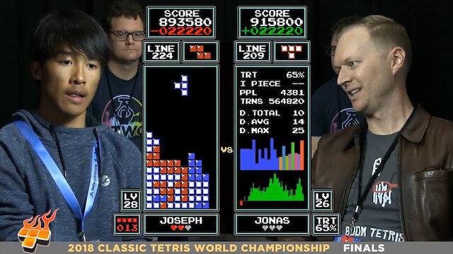 16 yaşındaki genç dünya tetris şampiyonu oldu