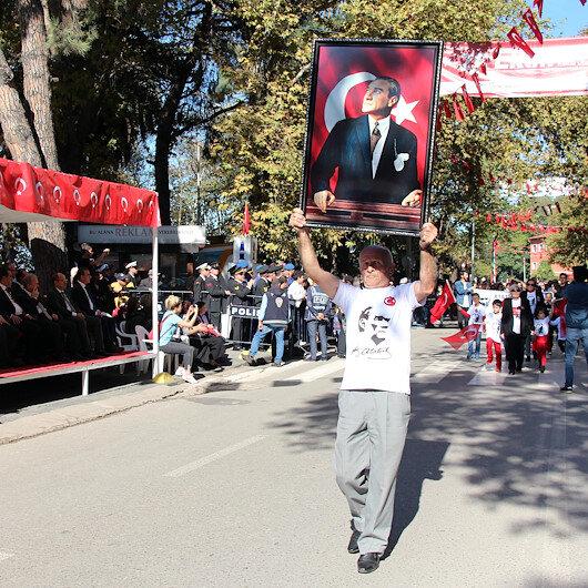 Cumhuriyetin ilk vilayetinde 29 Ekim coşkusu