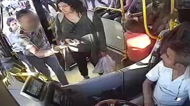 'Senin derdin ne' diyerek otobüse binen öfkeli koca şoförün burnunu kırdı