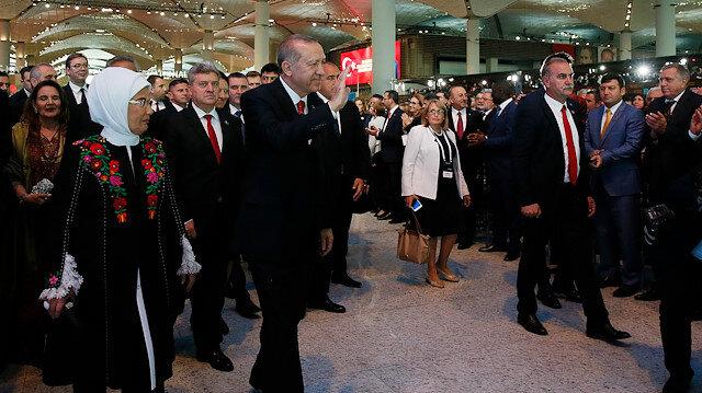 Cumhurbaşkanı Recep Tayyip Erdoğan, Dünyanın en büyük havalimanı açılıyor.